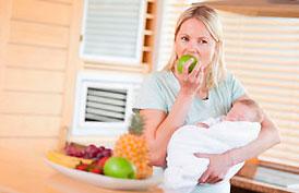 что можно есть кормящей маме после родов