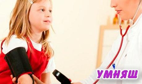 норма давления у детей