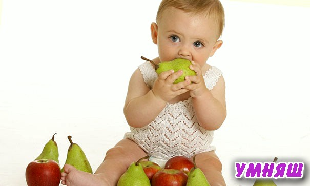 Как научить ребенка жевать твердую пищу