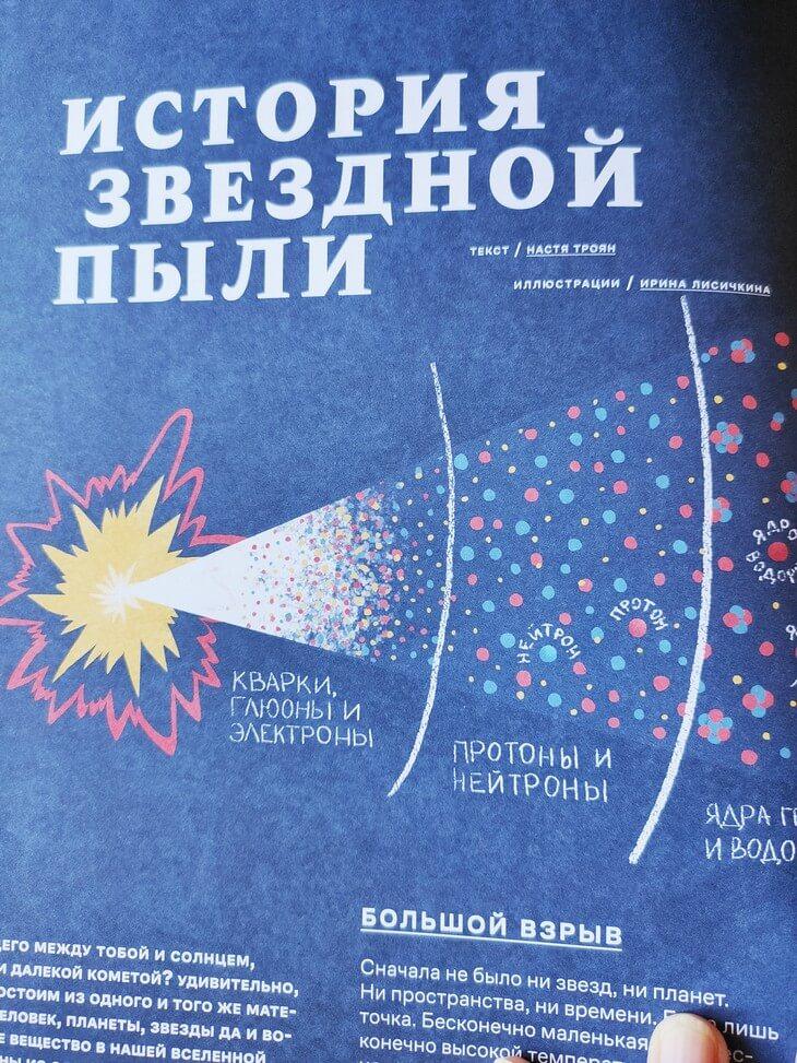 «Звёздная пыль под подушкой» - детский альманах, влюбляющий в науку